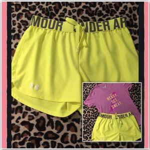 Women's Underarmour Heatgear Shorts